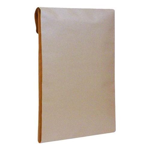 Faltentaschen mit Keil-/Spitzboden braun, Mailmedia, 35.3x25 cm