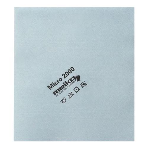 Microfasertuch »micro 2000« blau, Meiko, 45 cm