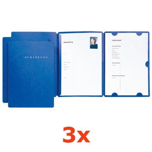 Bewerbungsset »Select« blau, Pagna, 22.5x31 cm