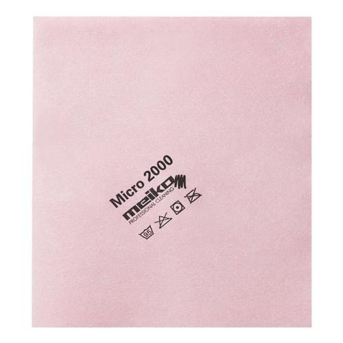 Microfasertuch »micro 2000« rosa, Meiko, 45 cm