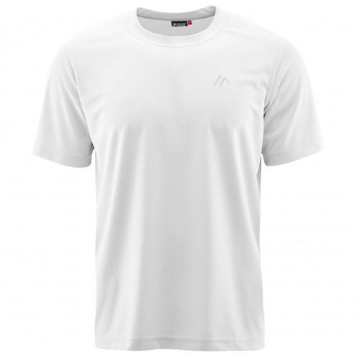 Maier Sports - Walter - T-Shirt Gr L grau/weiß