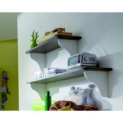 INFANSKIDS Merlin Babyzimmer Wandregal breit / B 90 x H 27 x T 26,5 cm