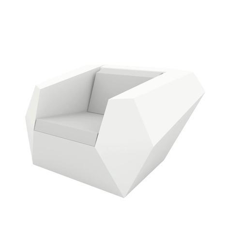 Vondom »FAZ« Outdoor Lounge Sessel Basic Matt / Eis