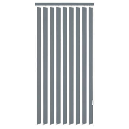 vidaXL Vertikale Jalousien Grau Stoff 150x250 cm