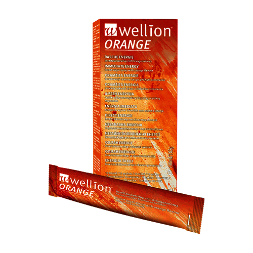 Wellion Orange Invertzuckersirup - 10 Beutel