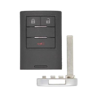 Cadillac SRX OEM 3 Button Key Fob 20984232