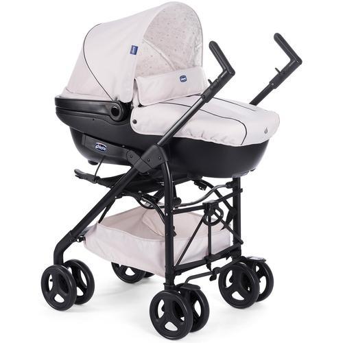 Chicco Kombi-Kinderwagen Trio Sprint mit Kit Car, Sandshell, Regenschutz; Kinderwagen braun Kinder Kombikinderwagen Buggies
