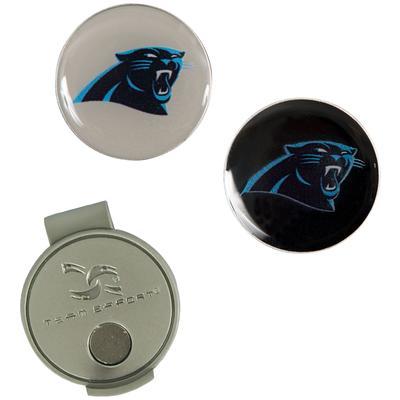 Carolina Panthers Hat Clip & Ball Markers Set