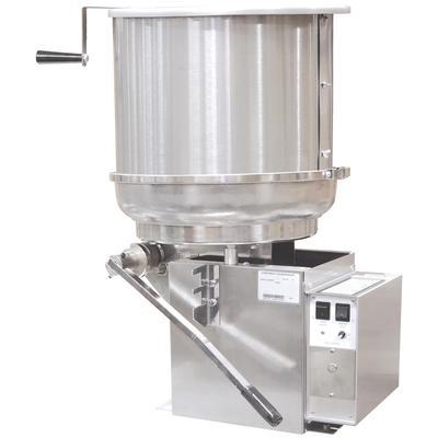 Gold Medal 2175ER Mark-5 Cooker Mixer w/ 5 gal Capacity & Right Hand Dump, 120/208v