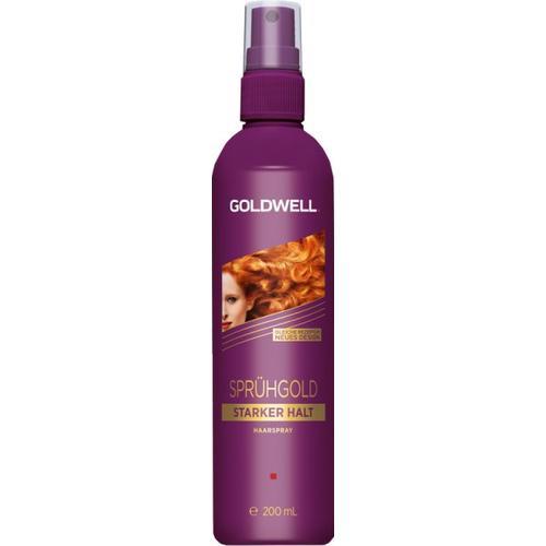 Goldwell Sprühgold Pumpspray starker Halt, Non-Aerosol 200 ml Haarspray