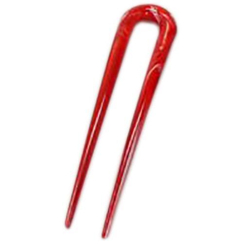 George Michael Haarnadel 11,5 cm rot lang