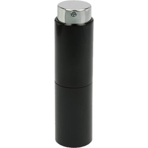 Fantasia Taschenzerstäuber, Schwarz, eindrehbarer Zerstäuberkopf, für 10 ml, Höhe: 8 cm Parfümzerstäuber