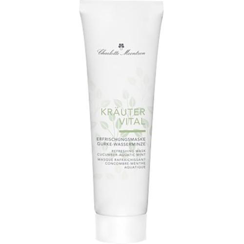 Charlotte Meentzen Kräutervital Erfrischungsmaske Gurke-Wasserminze 30 ml Gesichtsmaske