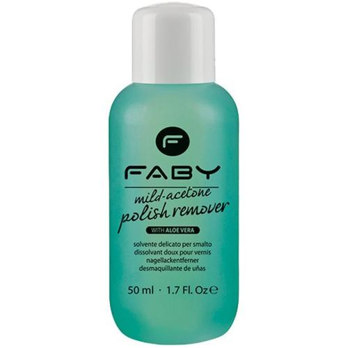 Faby Mild Acetone Polish Remover Aloe Vera 125 ml Nagellackentferner