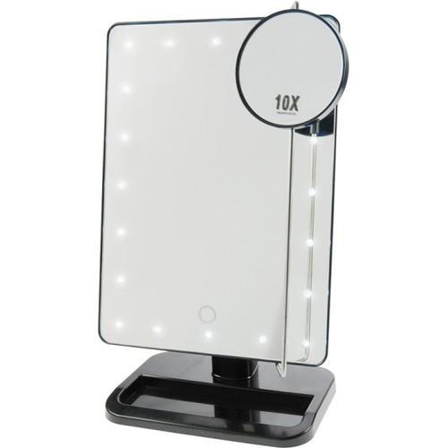 Fantasia Stellspiegel mit dimmbaren LEDs Kosmetikspiegel