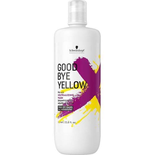 Schwarzkopf Goodbye Yellow Neutralisierendes Shampoo 1000 ml