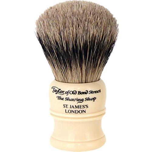 Taylor of Old Bond Street Super Badger Shaving Brush Ivory Rasierpinsel
