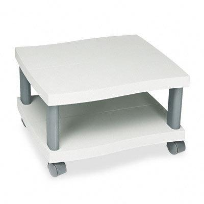 Safco Wave Underdesk Printer Stand -  Charcoal Gray