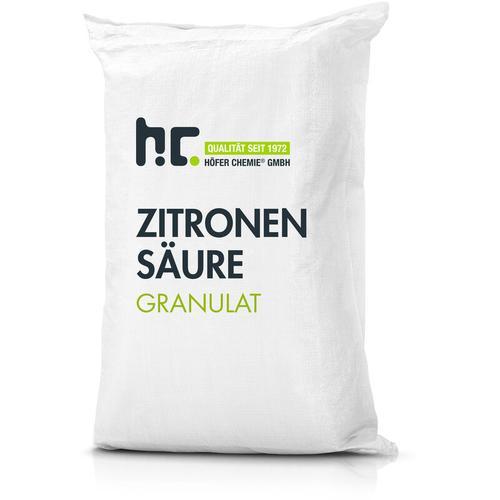 1 x 25 kg Zitronensäure Granulat