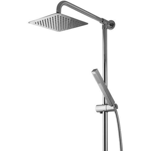 Paulgurkes - Aufputz Regendusche Duschsystem eckig 20cm