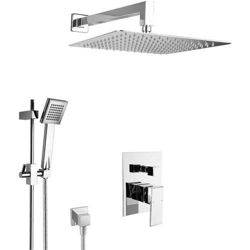 Paulgurkes - Dusche Set Unterputz Regendusche