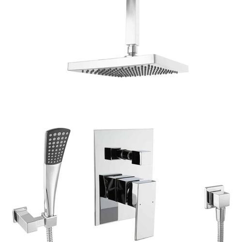 Unterputz Duschsystem 20cm Deckenmontage