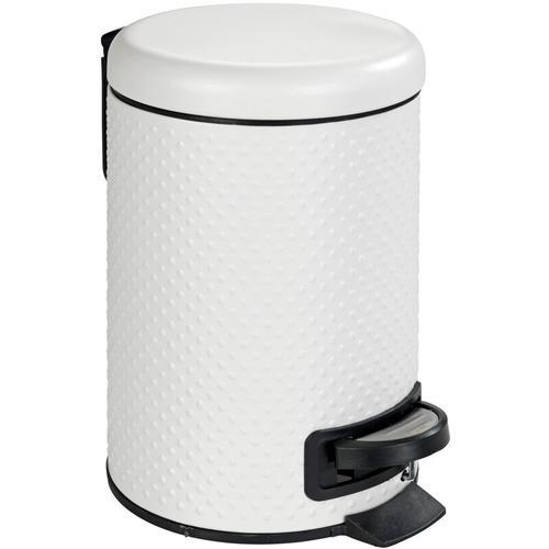 Treteimer Abfalleimer Mülleimer Papierkorb Eimer Kosmetikeimer Punto Weiß