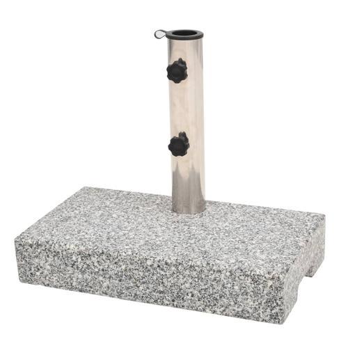 vidaXL Sonnenschirmständer Granit Rechteckig 25 kg