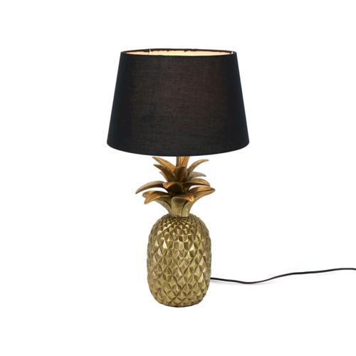 VOSS Design Tischleuchte Ananas Schirm schwarz