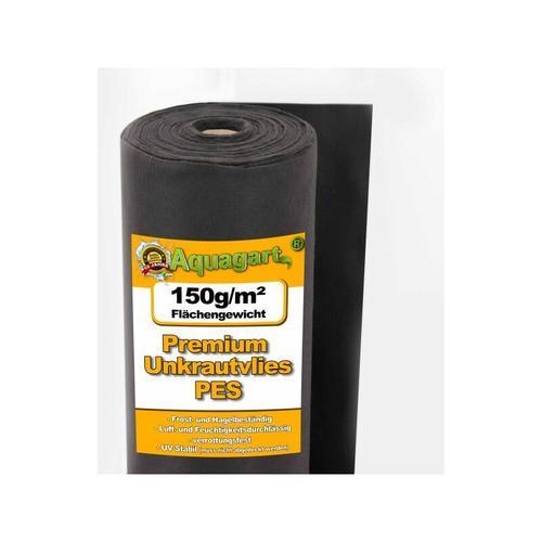 400m² Unkrautvlies Gartenvlies Mulchvlies Bodengewebe 150g 1m breit PES