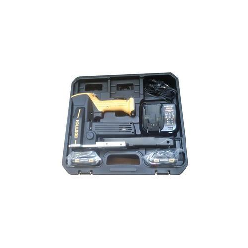 Bostitch DSA-3522-E 10,8 V Akku Kartonverschlusshefter Karton Tacker im Koffer + 2x 1,5 Ah Akku +