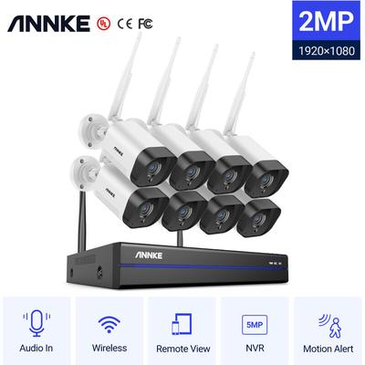 8CH WiFi IP Security Camera Syst...