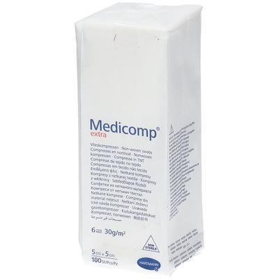 Hartmann Medicomp Compresse 6 Plis 5 x 5cm 421831 pc(s) compresse(s)
