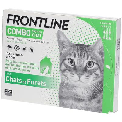 Frontline® Combo Spot-on Chats & Furets pc(s) pipette(s) unidose(s)