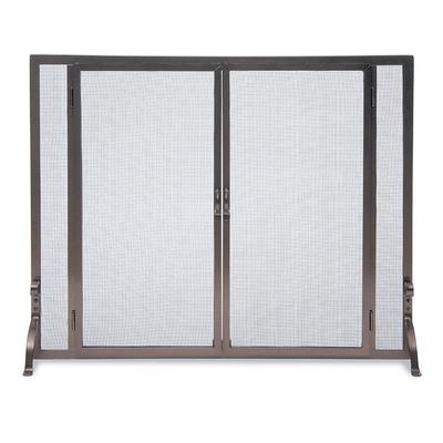 Full Height Fireplace Screen - L...