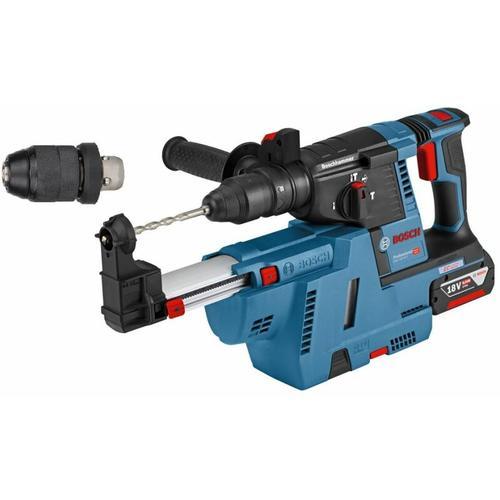 Akku-Bohrhammer GBH 18V-26 F 2x 6.0Ah Akku+ Absaugung GDE 18V-16 & L-BOXX