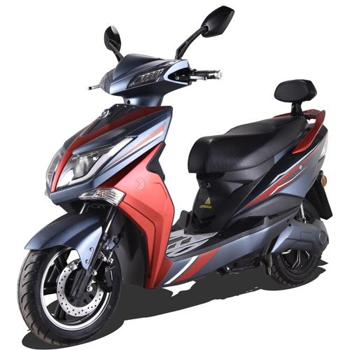 ELEKTROROLLER FUTURA E-Motorroller Hawk 3000, 3000 W, 45 km/h, 60 km rot Motorroller Mofas