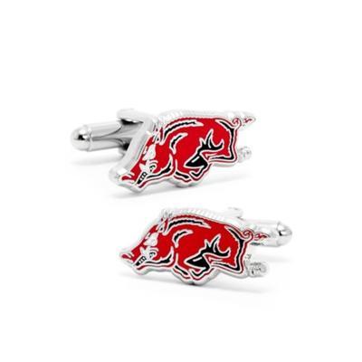 Cufflinks Inc Red Arkansas Razorback Cufflinks