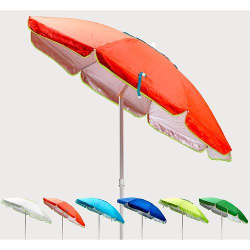 Sonnen Strandschirm Windfest uv Schutz 200 cm Sardegna   Orange