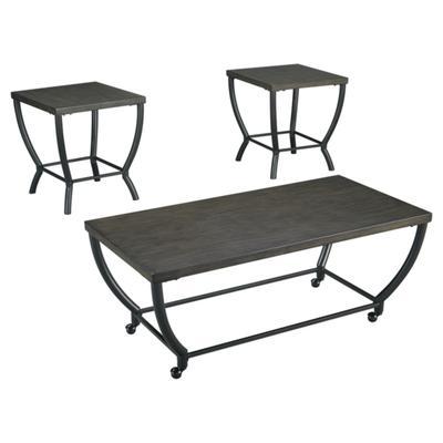 Signature Design Champori Occasional 3-Pc Table Set - Ashley Furniture T048-13