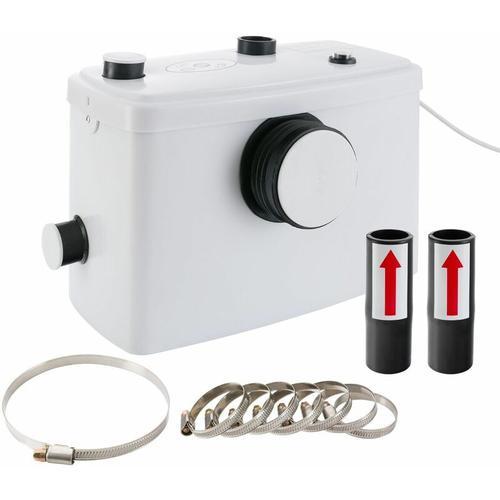 Kleinhebeanlage (600 W / für WC, Dusche, Waschbecken / 100 l/min / GS) - Fäkalienpumpe
