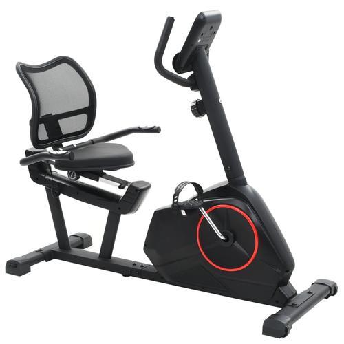 vidaXL Magnetisches Sitz-Ergometer mit Pulsmessung