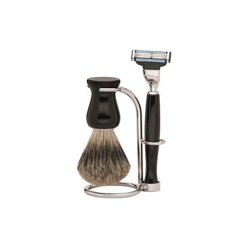 ERBE Shaving Shop Rasiersets Rasierset Mach3 Barcelona, 3 tlg. Rasierer + Rasierpinsel + Halter 1 Stk.