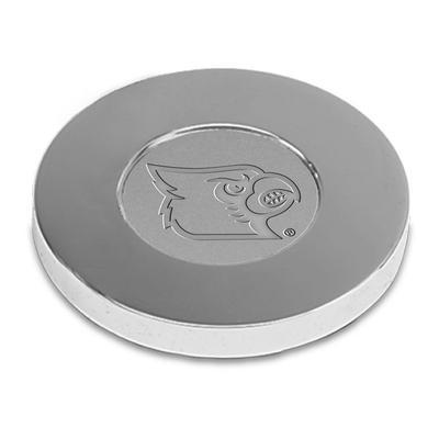 Louisville Cardinals Paperweight - Silver