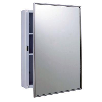 Bobrick - Bobrick B-297 Surface Mounted Medicine Cabinet, White Enamel Exterior