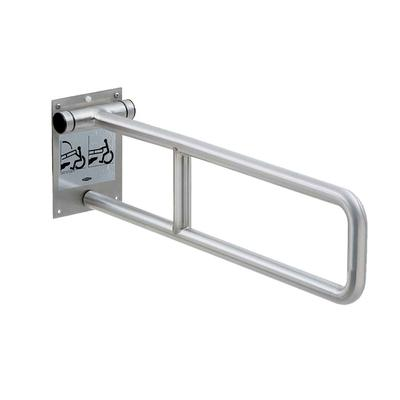 "Bobrick B-4998 Swing Up Grab Bar, 29""L"