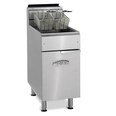 Imperial IFS-75 Gas Fryer - (1) 75 lb Vat, Floor Model, Natural Gas