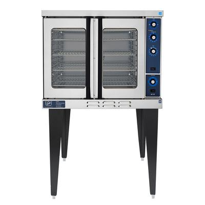 Duke 613Q-G1XX Single Full Size Liquid Propane Gas Convection Oven - 40,000 BTU