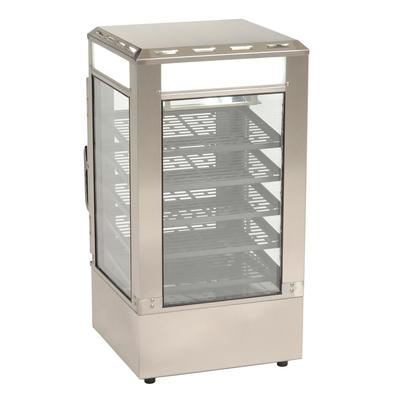 """Antunes SDC-500 16 1/2"""" Full Service Countertop Heated Display Case - (5) Shelves, 120v"""