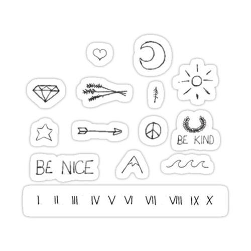 Multi Mini Sticker Pack Sticker
